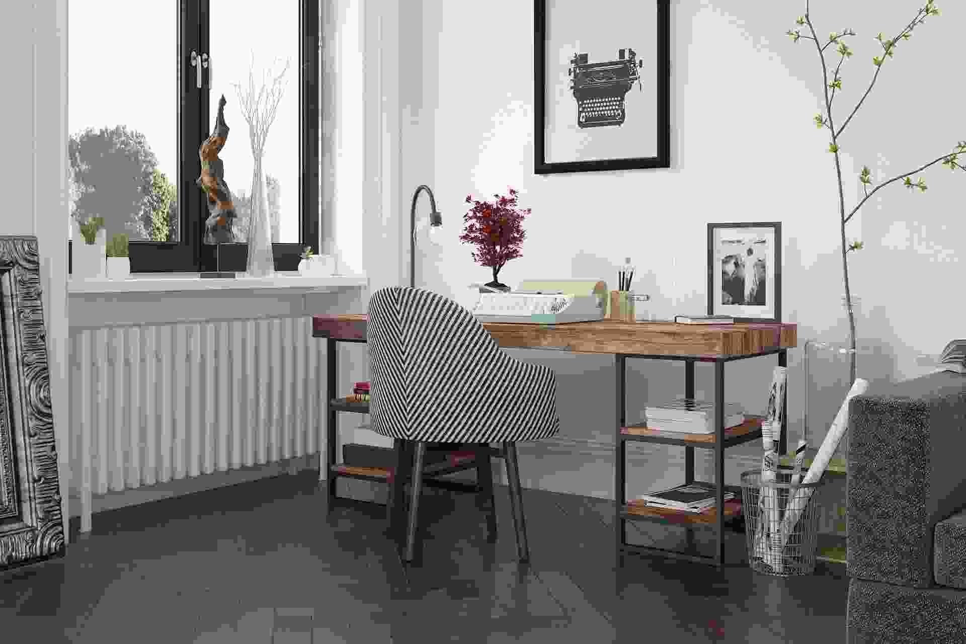 Compact study room